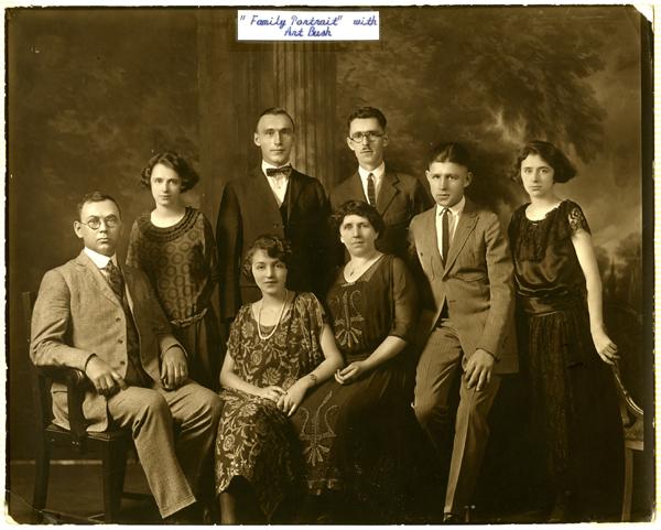 Bush / Rodkey family portrait