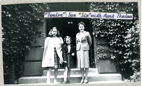 Ruth & Sue with Aunt Thelma
