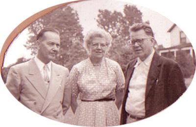 Walter, Robert, & Bertha